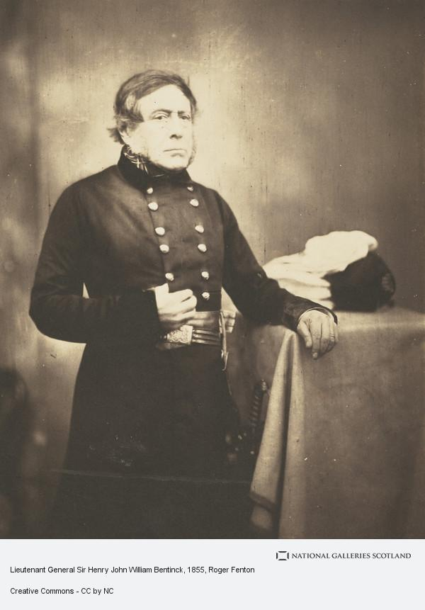 Roger Fenton, Album of photographs belonging to the Crum family, possibly assembled by Walter Crum. Lieutenant General Sir Henry John William Bentinck