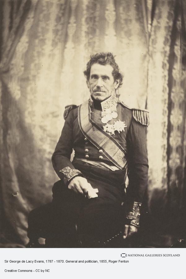 Roger Fenton, Sir George de Lacey Evans, 1787 - 1879. General and politician