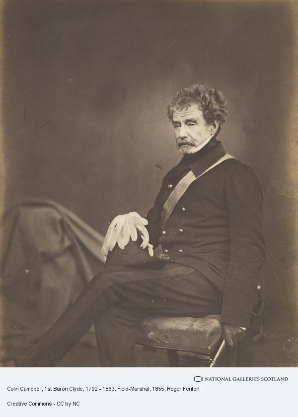 Roger Fenton, Colin Campbell, 1st Baron Clyde, 1792 - 1863. Field-Marshal