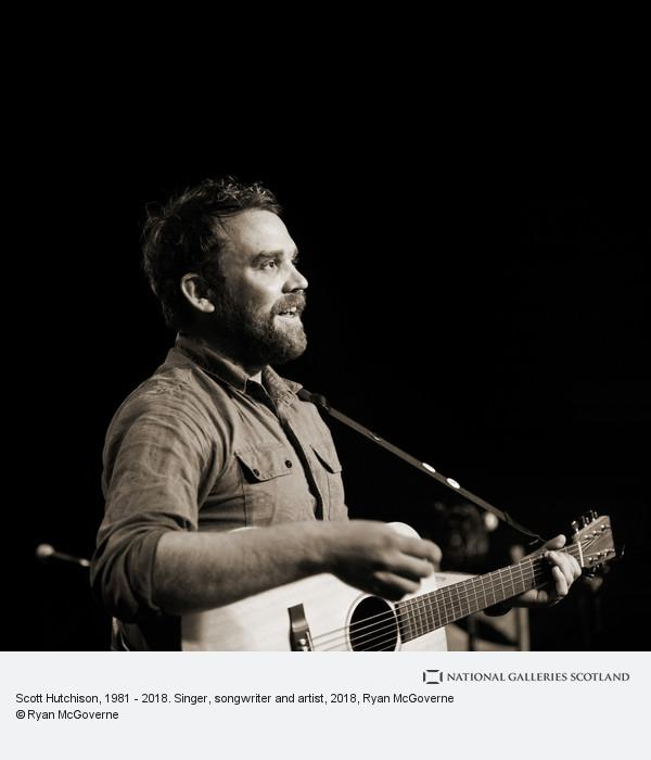 Ryan McGoverne, Scott Hutchison, 1981 - 2018. Singer, songwriter and artist