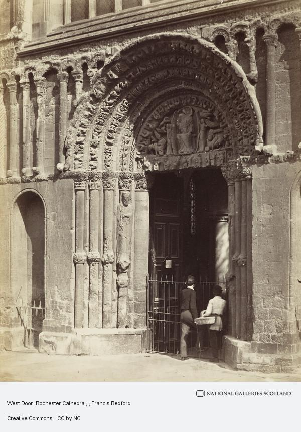 Francis Bedford, West Door, Rochester Cathedral