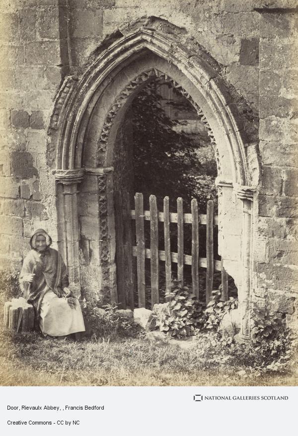 Francis Bedford, Door, Rievaulx Abbey