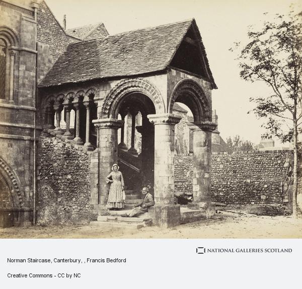 Francis Bedford, Norman Staircase, Canterbury