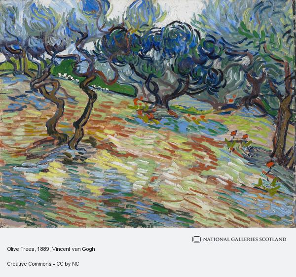 van gogh olive trees grasshopper