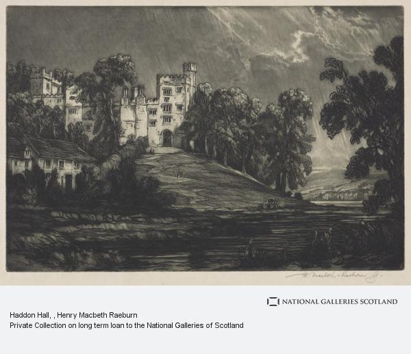 Henry Macbeth Raeburn, Haddon Hall