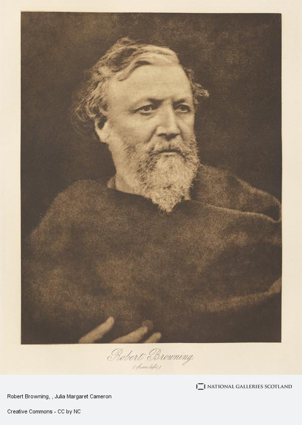 Julia Margaret Cameron, Robert Browning
