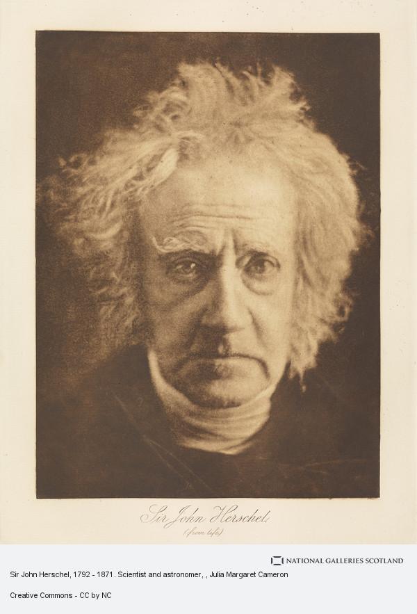 Henry Herschel Hay Cameron, Sir John Herschel