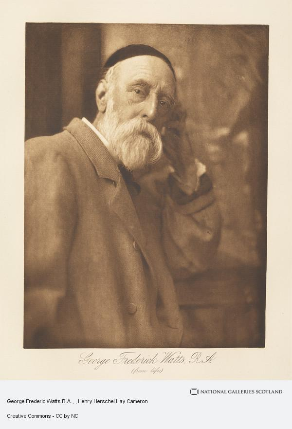 Henry Herschel Hay Cameron, George Frederic Watts R.A.