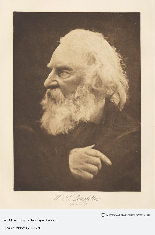 Henry Herschel Hay Cameron, W. H. Longfellow
