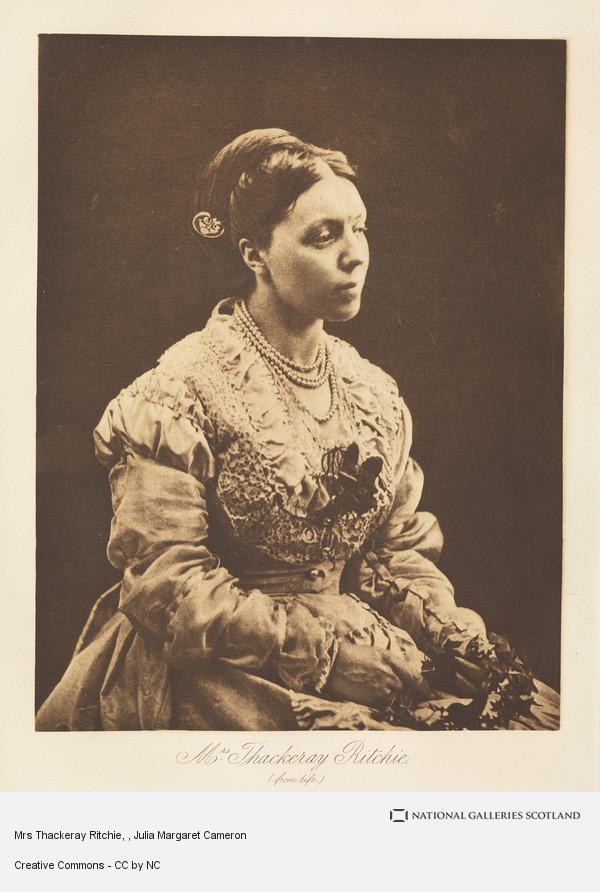 Henry Herschel Hay Cameron, Mrs Thackeray Ritchie