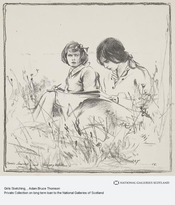 Adam Bruce Thomson, Girls Sketching