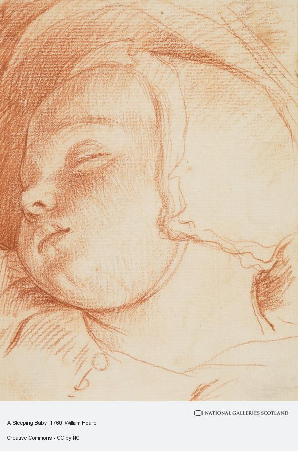 William Hoare, A Sleeping Baby