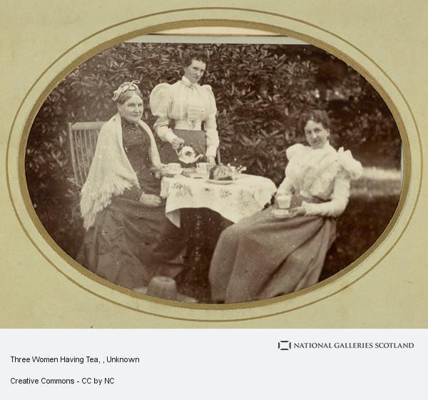 Unknown, Three Women Having Tea