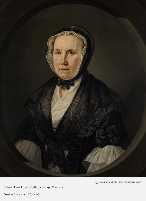 Sir George Chalmers, Portrait of an Old Lady