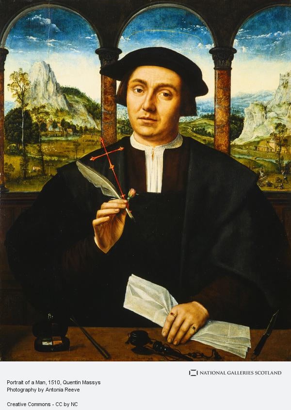 Quentin Massys, Portrait of a Man (About 1510 - 1520)