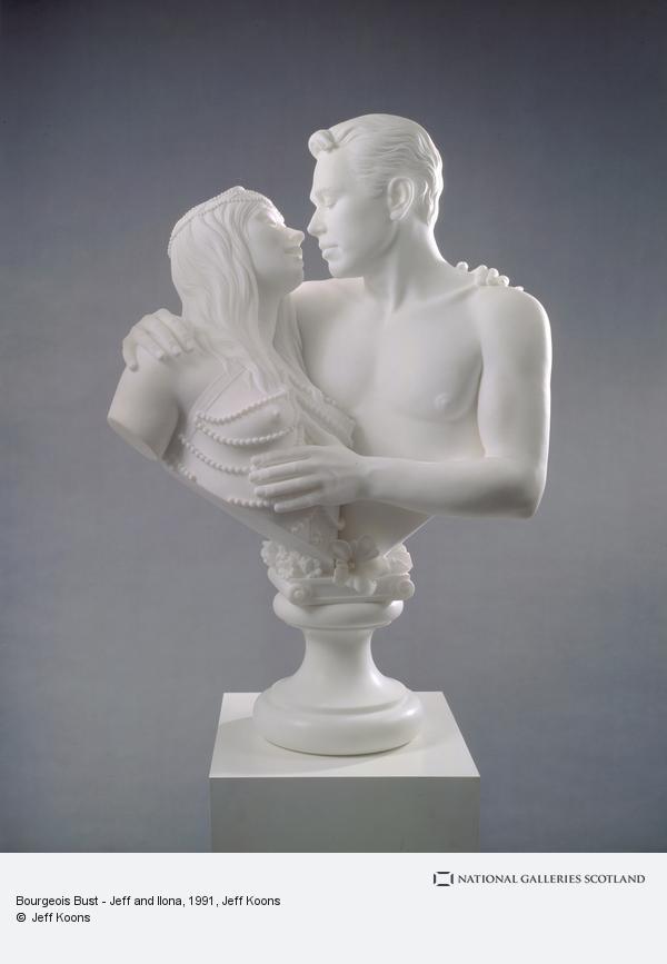 Jeff Koons, Bourgeois Bust - Jeff and Ilona (1991)