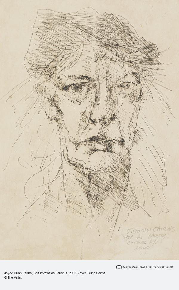Joyce Gunn Cairns, Joyce Gunn Cairns, Self Portrait as Faustus