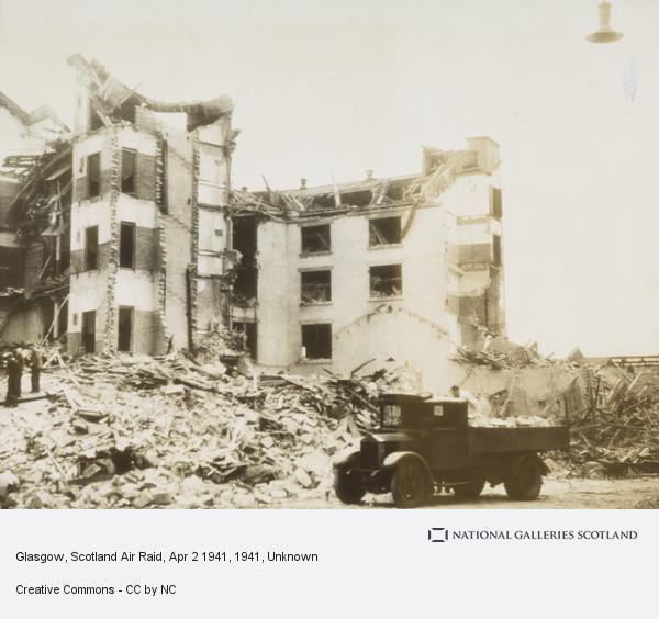 Unknown, Glasgow, Scotland Air Raid, Apr 2 1941