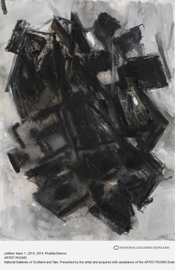 Phyllida Barlow, untitled: black 1, 2014