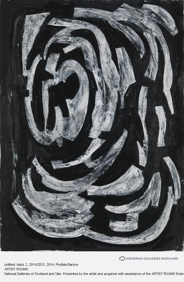 Phyllida Barlow, untitled: black 2, 2014/2015
