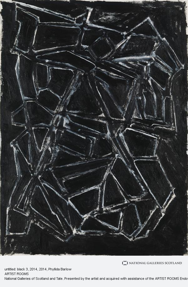 Phyllida Barlow, untitled: black 3, 2014