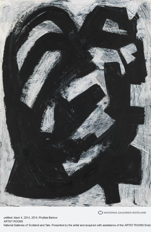 Phyllida Barlow, untitled: black 4, 2014