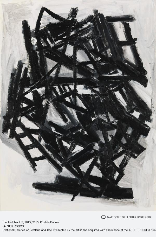 Phyllida Barlow, untitled: black 5, 2015