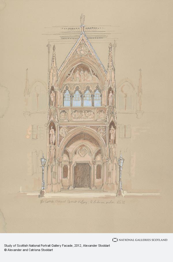 Alexander Stoddart, Study of Scottish National Portrait Gallery Facade