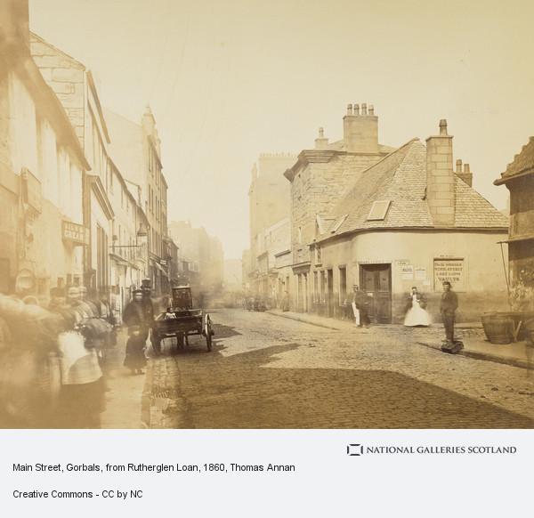 Thomas Annan, Main Street, Gorbals, from Rutherglen Loan