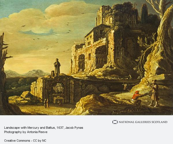 Jacob Pynas, Landscape with Mercury and Battus