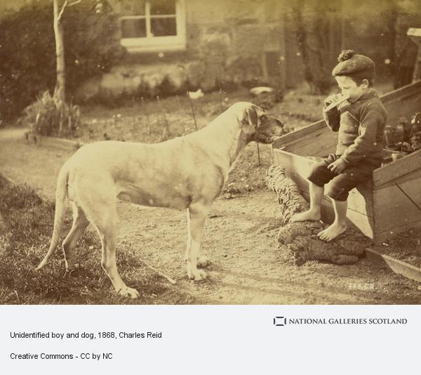 Charles Reid, Boy and Dog