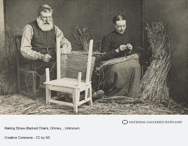 Unknown, Making Straw-Backed Chairs, Orkney