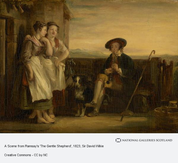 Sir David Wilkie, A Scene from Ramsay's 'The Gentle Shepherd'