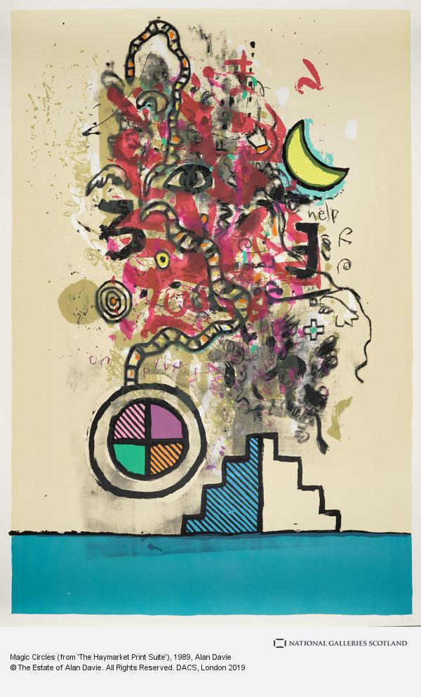Alan Davie, Magic Circles (from 'The Haymarket Print Suite')