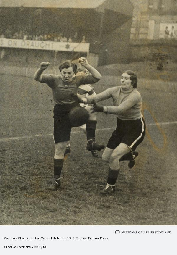 Scottish Pictorial Press, Women's Charity Football Match, Edinburgh