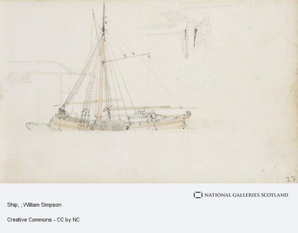 William Simpson, Ship