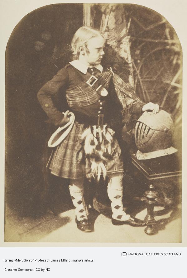 David Octavius Hill, Professor Miller's son, James Miller