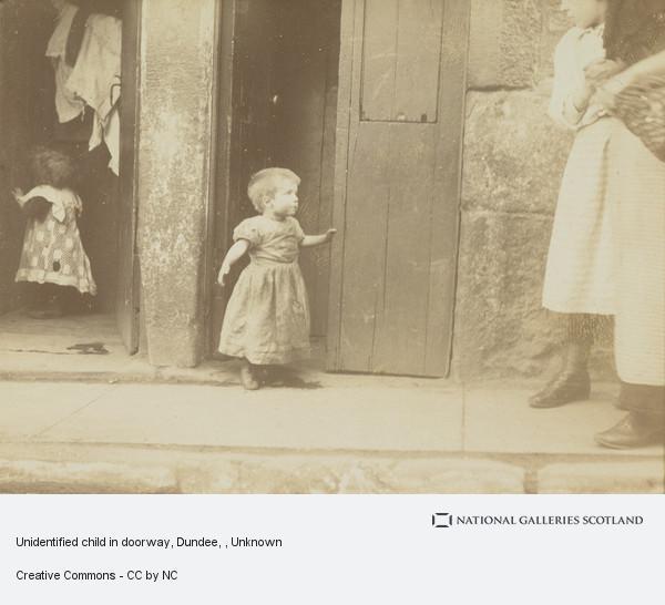 Unknown, Child in Doorway, Dundee