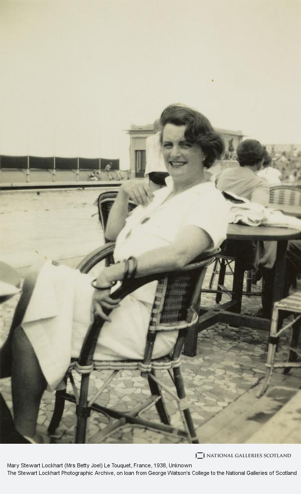 Unknown, Mary Stewart Lockhart (Mrs Betty Joel) Le Touquet, France