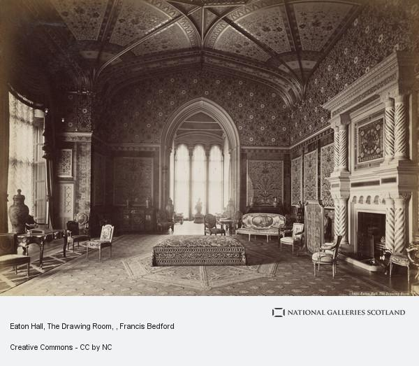 Francis Bedford, Eaton Hall, The Drawing Room