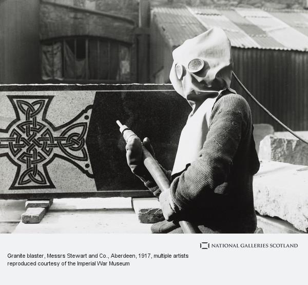 George P. Lewis, Granite blaster, Messrs Stewart and Co., Aberdeen