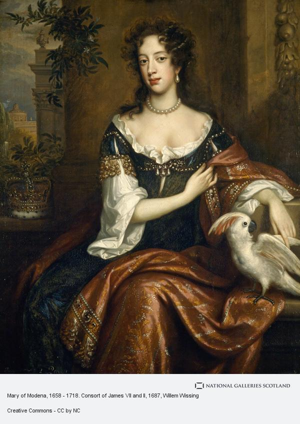 Willem Wissing, Mary of Modena, 1658 - 1718. Consort of James VII and II