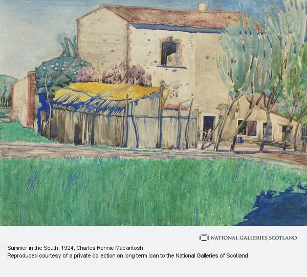 Charles Rennie Mackintosh, Summer in the South