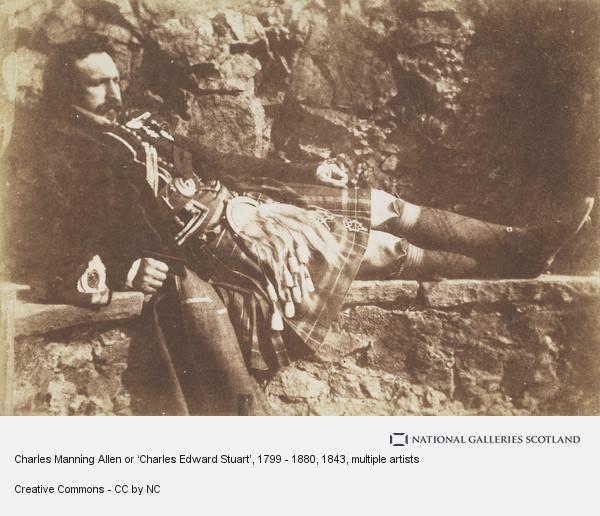 David Octavius Hill, Charles Manning Allen or 'Charles Edward Stuart', 1799 - 1880