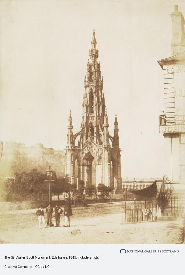 David Octavius Hill, The Sir Walter Scott Monument, Edinburgh