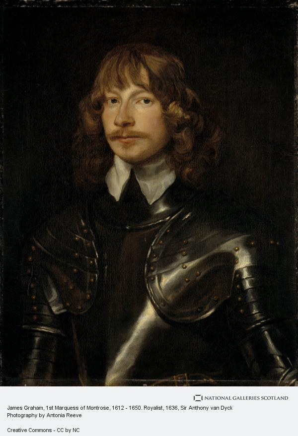 Sir Anthony van Dyck, James Graham, 1st Marquess of Montrose, 1612 - 1650. Royalist
