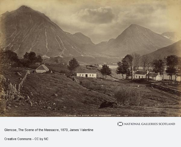 James Valentine, Glencoe, The Scene of the Massacre