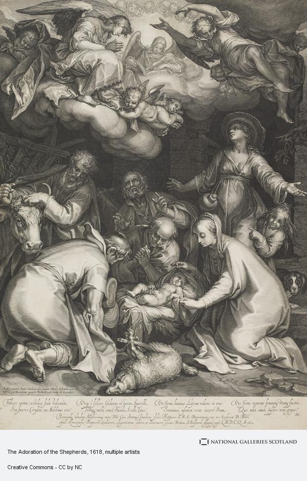 Boetius Adams Bolswert, The Adoration of the Shepherds