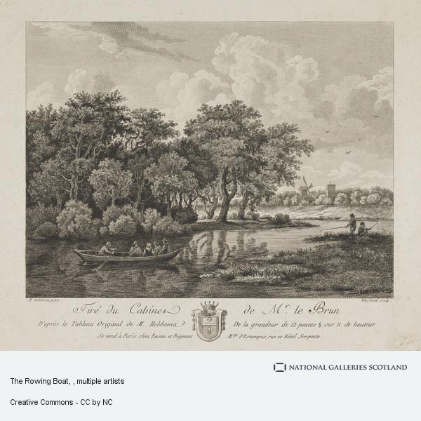 Karl Wilhelm Weisbrood, The Rowing Boat