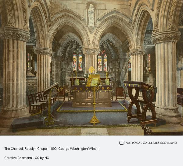 George Washington Wilson, The Chancel, Rosslyn Chapel